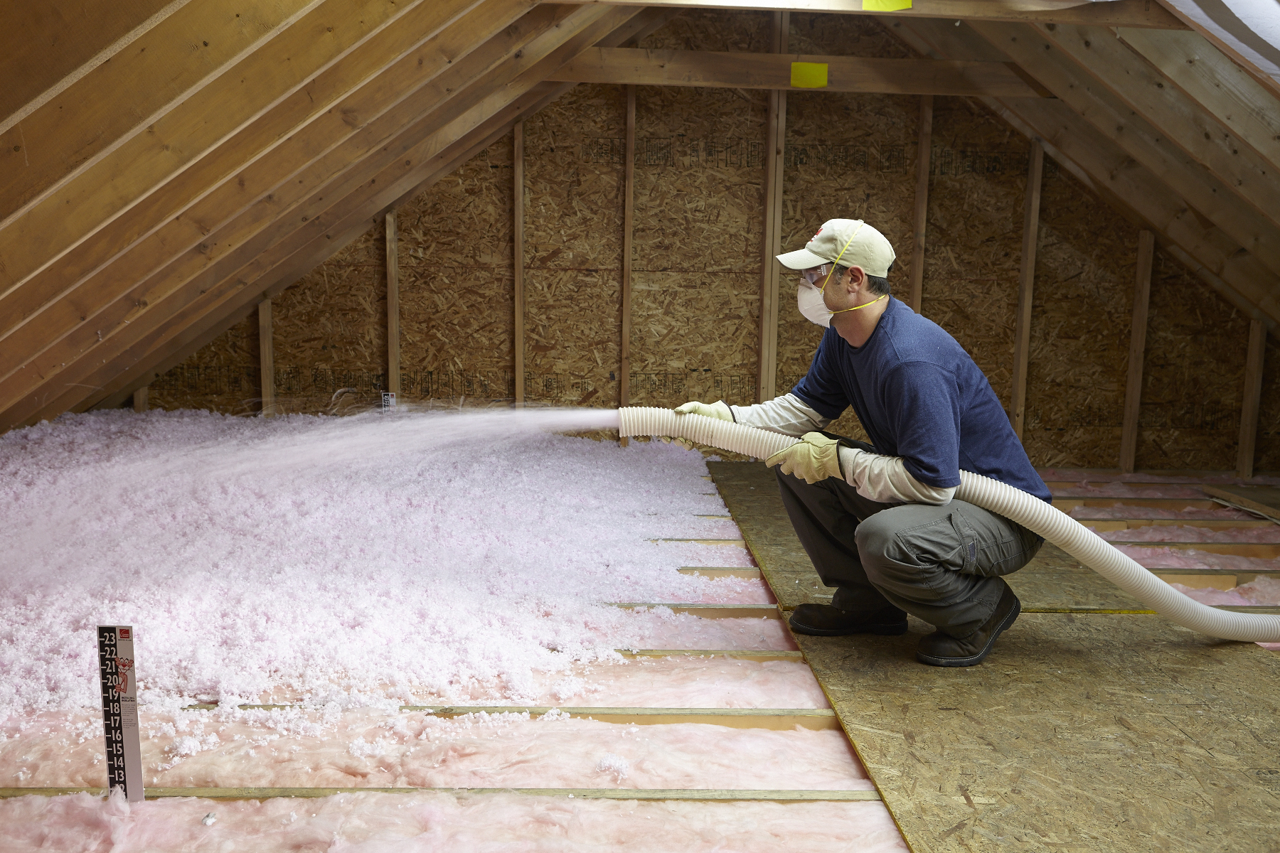 Product listing building performance institute inc for Fiberglass blowing wool insulation